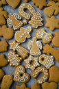 Christmas cookies assorted Royalty Free Stock Photo