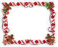 Christmas Cookies and Candy Frame Stock Image