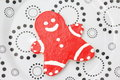 Christmas cookies with honey and sugar Royalty Free Stock Images