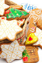 Christmas cookies to decorate Royalty Free Stock Photos