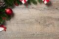 Christmas corner background