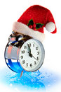 Christmas countdown of time Royalty Free Stock Image