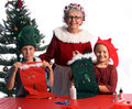 Christmas Crafts Stock Photo