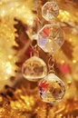 Christmas Crystal Ornament Stock Image