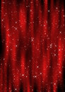 Christmas curtain Royalty Free Stock Photo