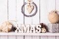Christmas Decor On The Shelf