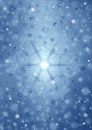 Christmas decoration background from snowflakes for a theme Stock Photography