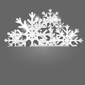 Christmas decoration background vector illustration Royalty Free Stock Photography