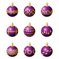 Christmas decoration balls Stock Image