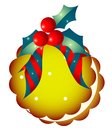 Christmas  decoration and biscuits Stock Images