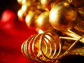 Christmas decoration closeup Stock Photography