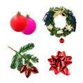 Christmas decoration composite Royalty Free Stock Photo