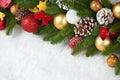 Christmas Decoration On Fir Tr...