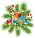 Christmas decoration and gifts Stock Photo