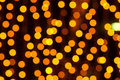 Christmas decoration lights  Royalty Free Stock Photography
