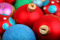Christmas decoration lots of colorful Stock Photography
