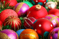 Christmas decoration lots of colorful Stock Images