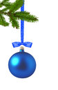 Christmas Decoration over white Royalty Free Stock Photo
