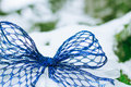 Christmas decoration over wooden background Royalty Free Stock Photo