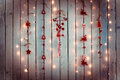 Christmas Decoration With Red ...