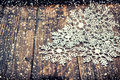 Christmas decoration snowflakes with falling snow effect Royalty Free Stock Photo