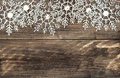 Christmas decoration snowflakes with snowfall effectChristmas de Royalty Free Stock Photo
