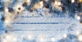 Christmas decoration with star Royalty Free Stock Photo