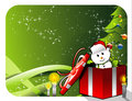 Christmas decoration vector Royalty Free Stock Photo