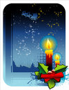 Christmas decoration vector Royalty Free Stock Photography