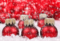 Christmas decorations background with Stock Photo