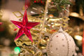 Christmas decorations or christmas tree light prepare for celebrate day, abstract Bokeh light good use for background Royalty Free Stock Photo