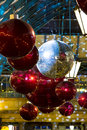 Christmas decorations in covent garden london uk Royalty Free Stock Photography