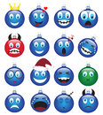 Christmas decorations-emotions Royalty Free Stock Photos