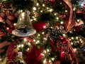 Christmas Decorations, North Pole, Oklahoma City Royalty Free Stock Photo
