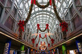 Christmas Decorations, O'Hare Airport, Chicago Royalty Free Stock Photo