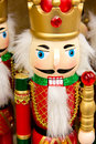 Christmas decorations - soldier nut cracker Royalty Free Stock Photo