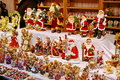 Colored Christmas decorations: Santa Claus and angels