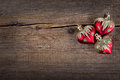 Christmas decorations on vintage wooden background new year toy Stock Photo