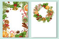 Christmas decorative banners Royalty Free Stock Photo