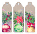 Christmas Decorative Bookmark Royalty Free Stock Photo