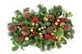 Christmas Decorative Display Royalty Free Stock Photo