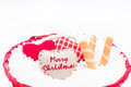 Christmas decorative ribbon Royalty Free Stock Photo