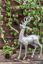 Christmas Deer. Vintage Style ...