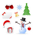Christmas design elements Stock Photo