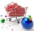 Christmas discount Royalty Free Stock Photos