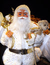 Christmas. Doll of Santa Claus Royalty Free Stock Photo