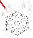 Christmas dot game