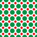Christmas Dots Stock Photo