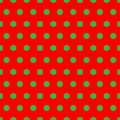 Christmas Dots Stock Image