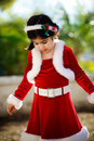 Christmas dress Royalty Free Stock Photo